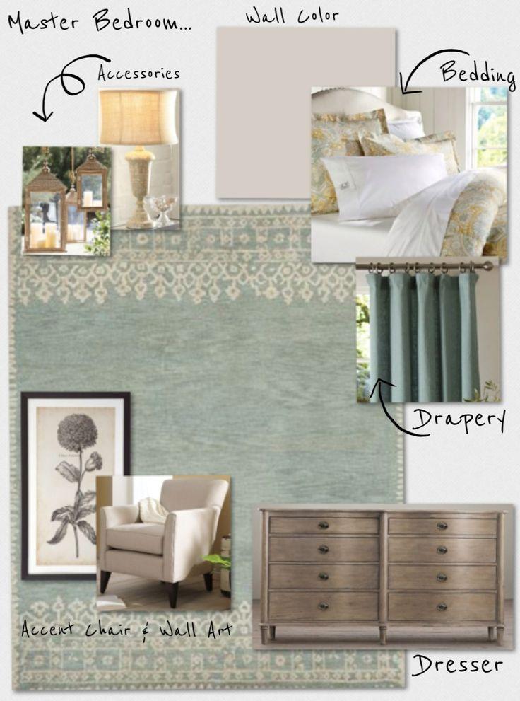 Master Bedroom Concept Board Master Bedroom Ideas Pinterest