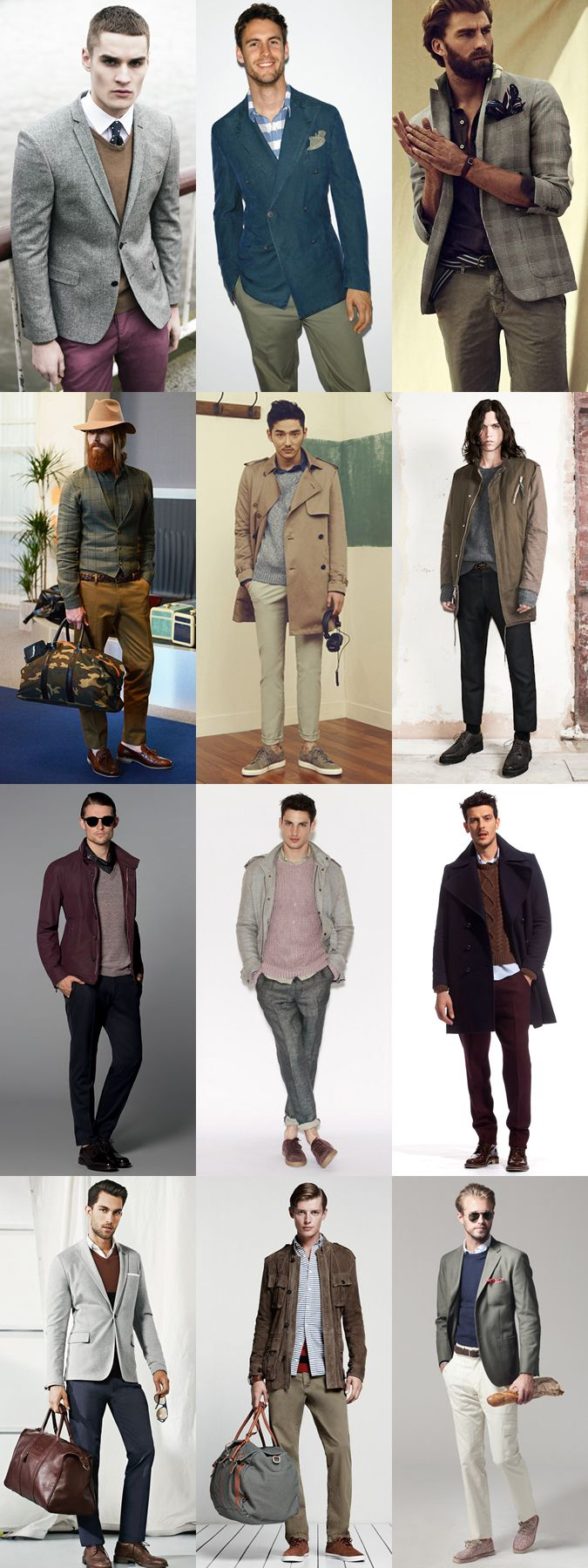color mixing | Men's Winter Fall Style Fashion | Pinterest