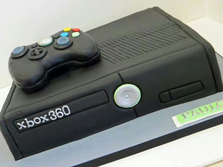 Xbox  Template For Cake
