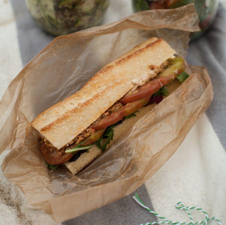 Heirloom tomato sandwich | Pretty Food Photos | Pinterest