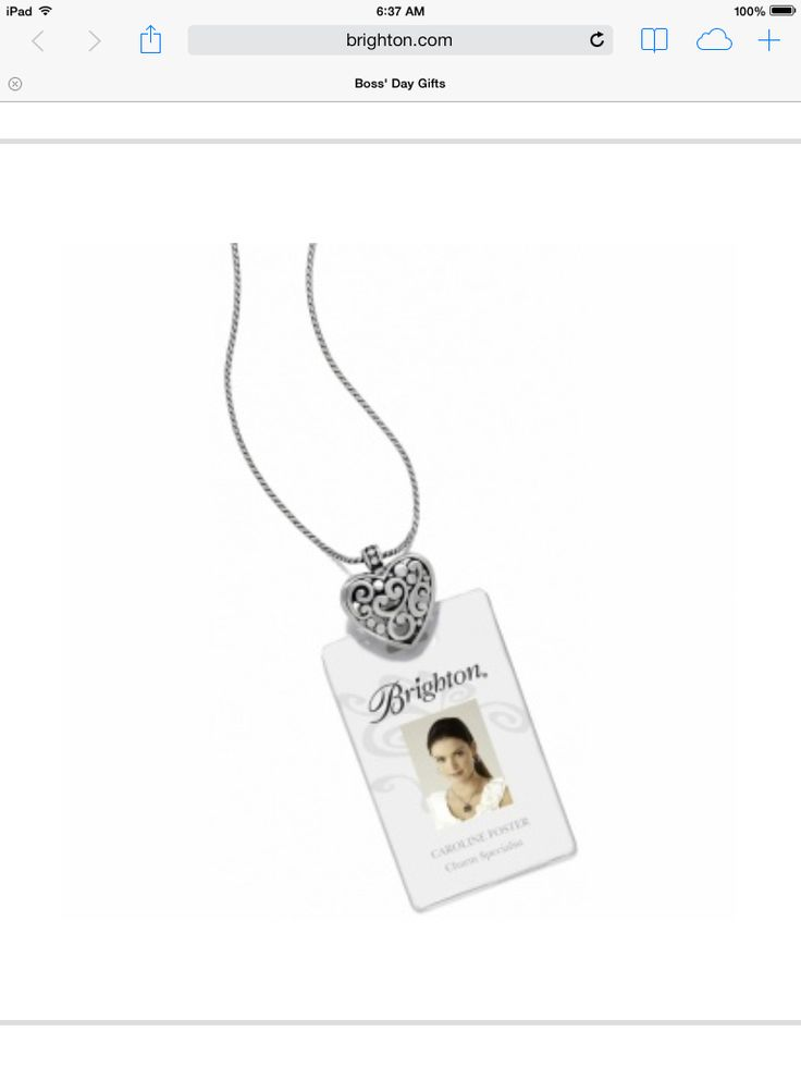 Name badge holder more brighton at work jewelry pinterest for Brighton badge holder jewelry