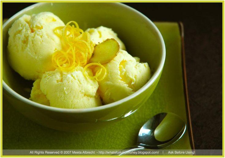 Ginger & lemon ice cream | Empire of Ice Cream | Pinterest
