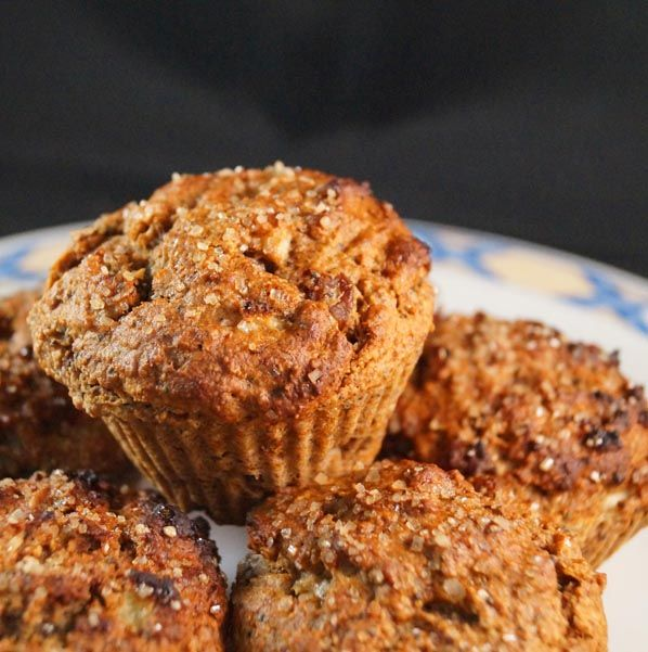 Cinnamon Spiced Apple Crumble Muffins | Food | Pinterest