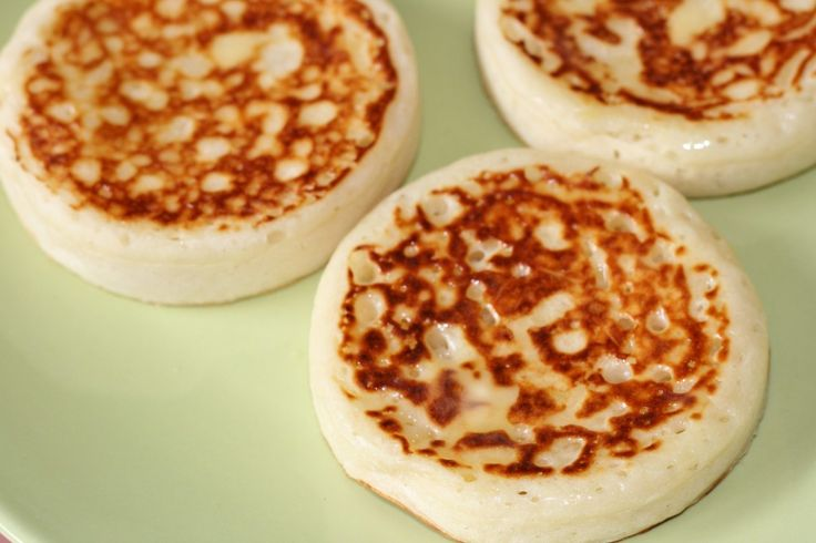 Crumpets | Recipes to try | Pinterest