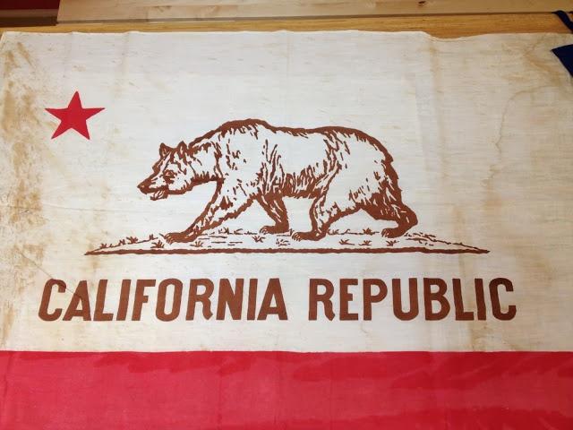 bear on flag