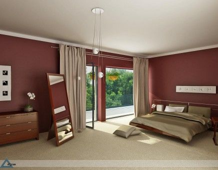 Burgundy And Gold Contrast Bedroom Bedroom Pictures Pinterest