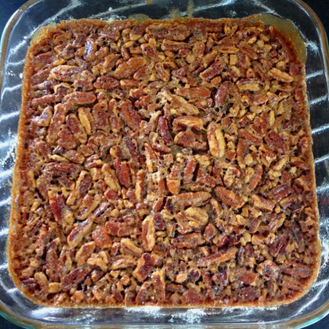 Pecan pie shortbread bars   parties   Pinterest