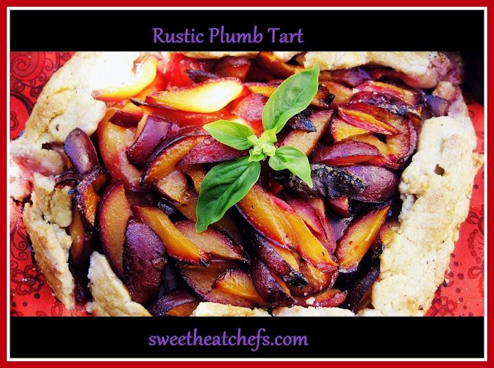 Rustic Plumb Tart « Sweet Heat Chefs   Sweet Heat Chefs   Pinterest