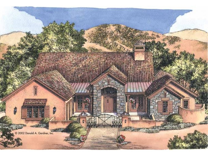 Southwest Style Houseplans Pinterest