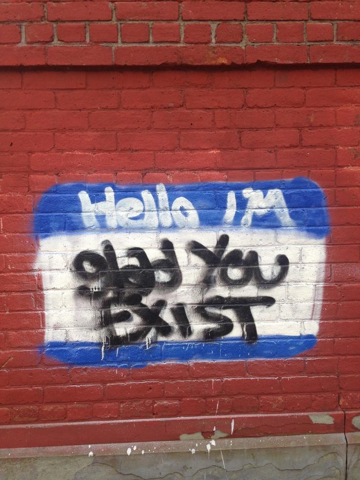 Nice graffiti.