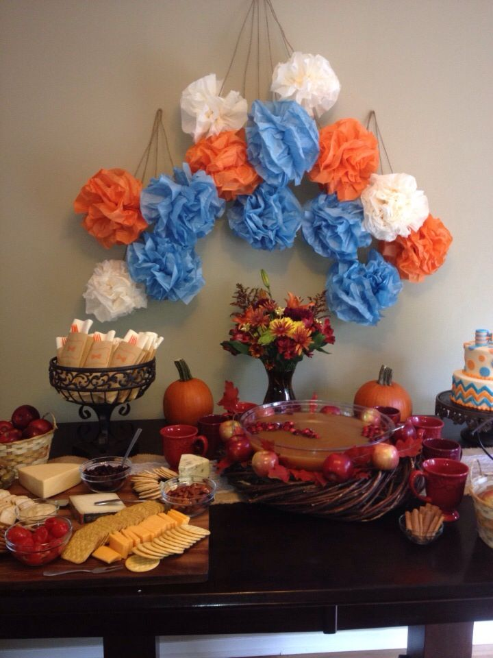 fall baby shower party pinterest