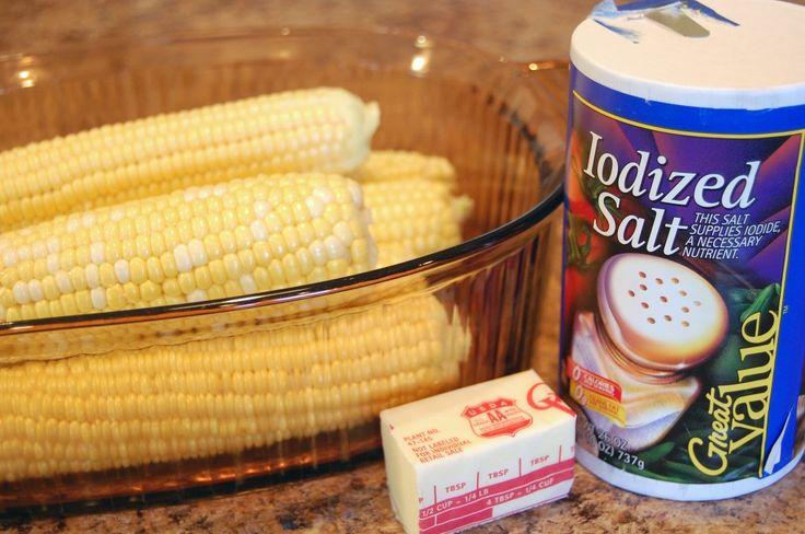 Microwave corn on the cob year 3 week 37