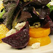 Beet salad Sweet meets savory in this deliciously simple salad ...
