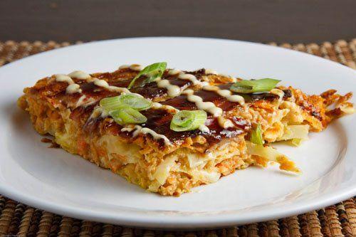 Okonomiyaki (Japanese Pancake) | Recipe