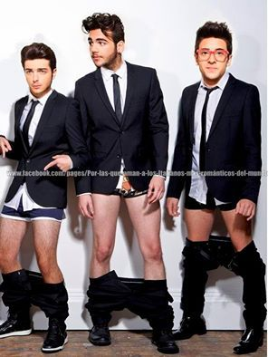 Il Volo, WOW, who has the cutest legs?