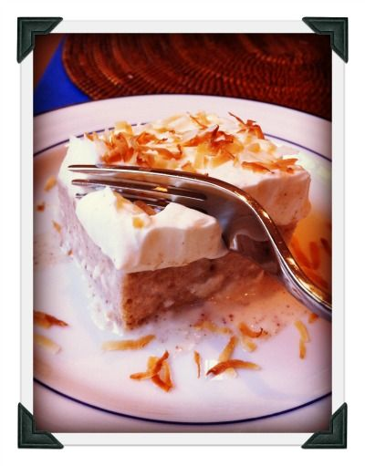 Coconut Tres Leches Cake | cakes! | Pinterest