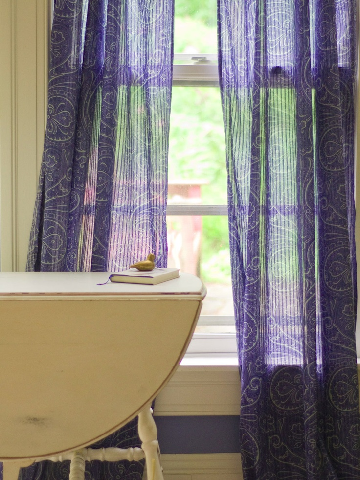Indian Paisley Window Curtain | Home Decor Inspirations | Pinterest