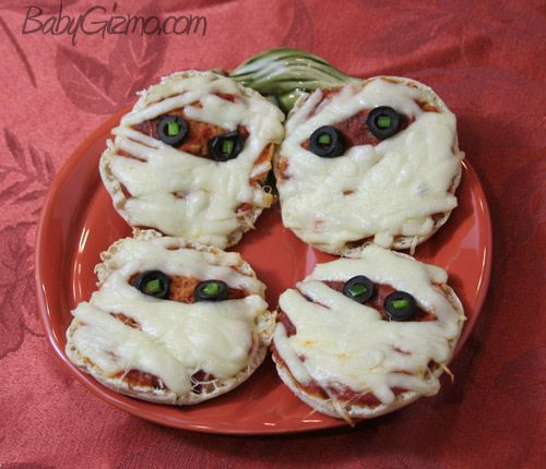 Pizza Mummies | Halloween | Pinterest