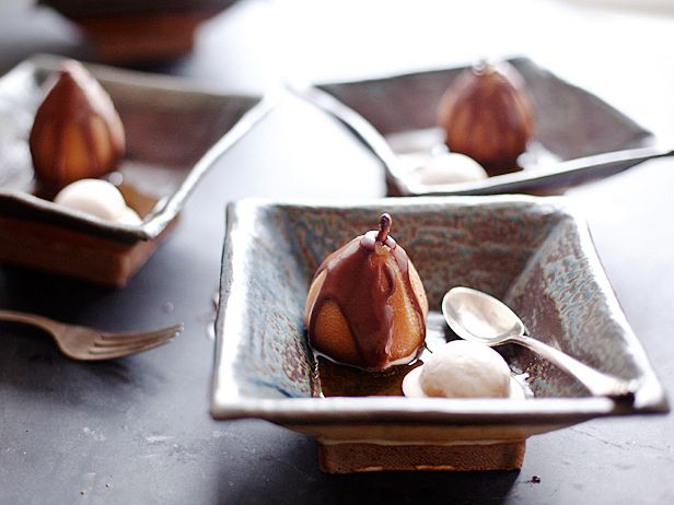 Poached Pears @CookingChannel #hgeats