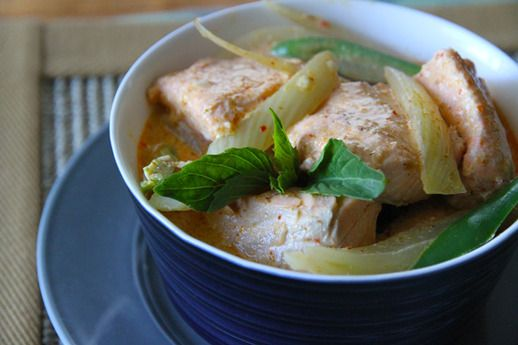 Salmon-Fennel Red Curry | Serious Eats : Recipes