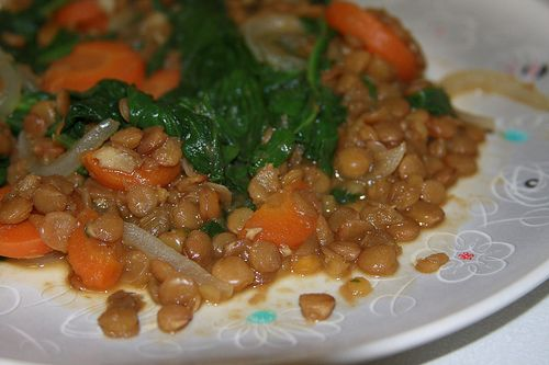 Lentils and Spinach | Recipes and Food | Pinterest