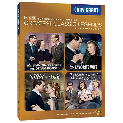 TCM Greatest Classic Films: Legends - Cary Grant: My Favorite Wife / Night And Day / The Bachelor And The Bobby-Soxer / Mr. Blandings Builds His Dream House