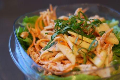 Paleo Digest- Asian Almond Chicken Salad | OMM-Nom-nom!! | Pinterest