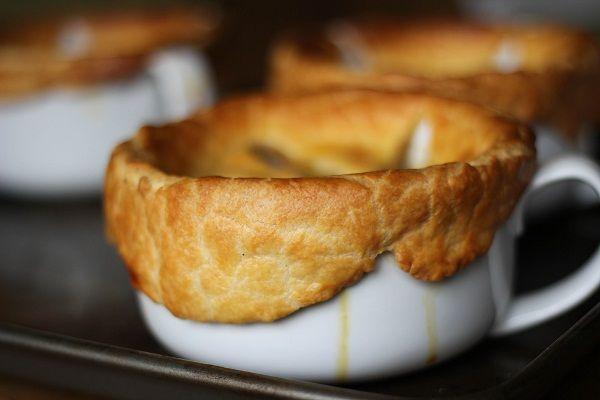 Pancetta, White Bean & Chard Pot Pies - recipe from Smitten Kitchen ...