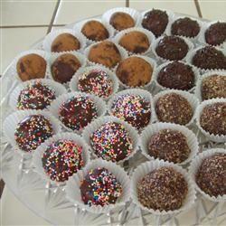 Easy Decadent Truffles Allrecipes.com | Desserts | Pinterest