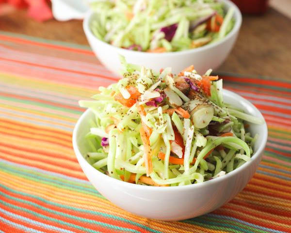 Broccoli Slaw from citronlimette. This crunchy vegetable salad is an ...