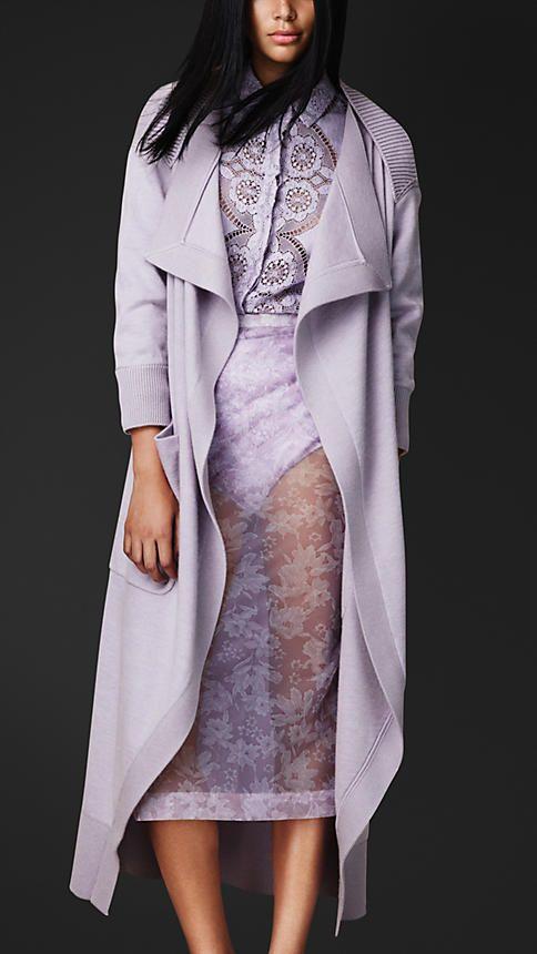 Burberry Wool Cashmere Knit Cardigan Coat 22