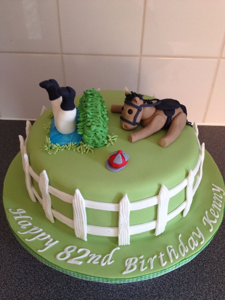 Cake Decorations Horse Racing : Horse racing cake Cakes Pinterest