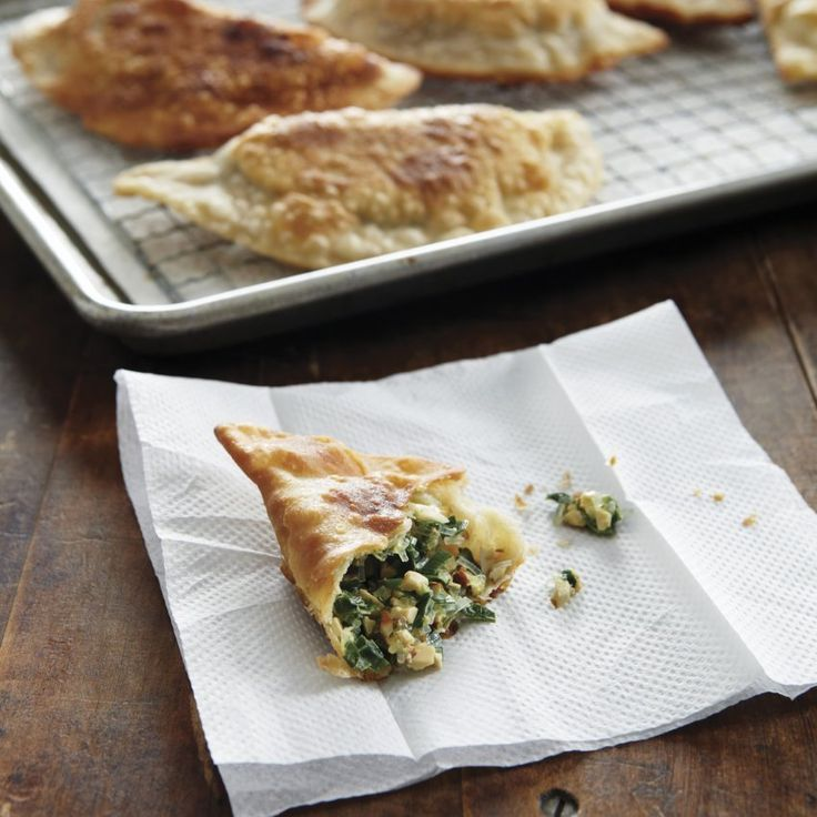 Chinese Chive and Pressed Tofu Turnovers | Savory Baked Goods | Pinte ...