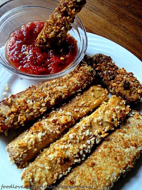 Crunchy tofu sticks | Let's pretend I'm gourmet | Pinterest
