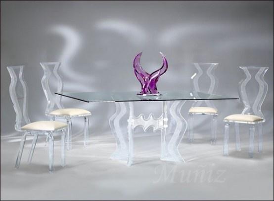 decoracao de interior: Decoração com mesa de vidro 2013