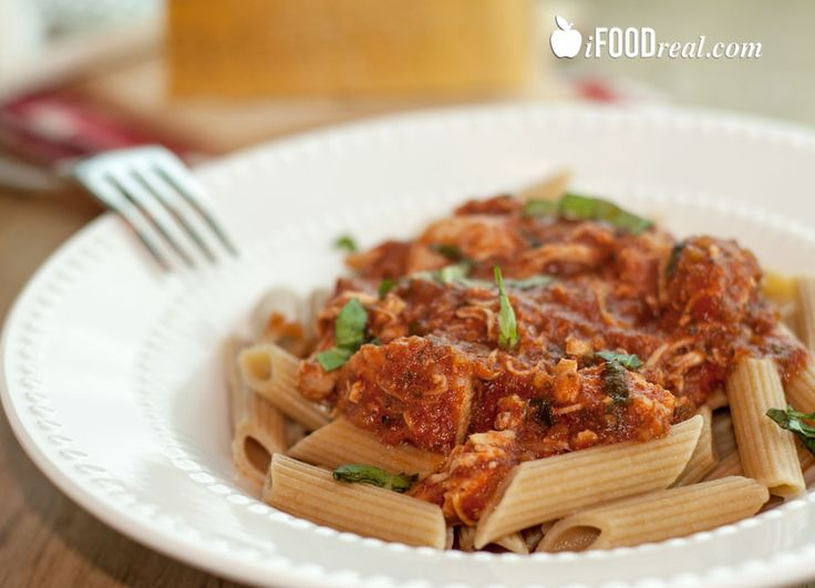 Crock Pot Chicken Marinara ... Made this in 5 minutes this morning for ...
