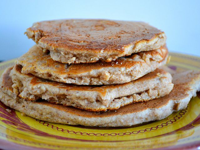 ... banana pecan pancakes recipe using almond flour. These pancakes are