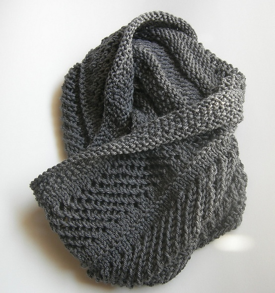 knitted cowl pattern. knitting Pinterest