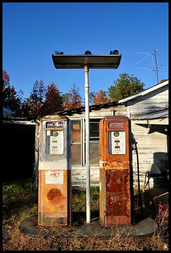 Old Gas StationsOld Gas Station Pump