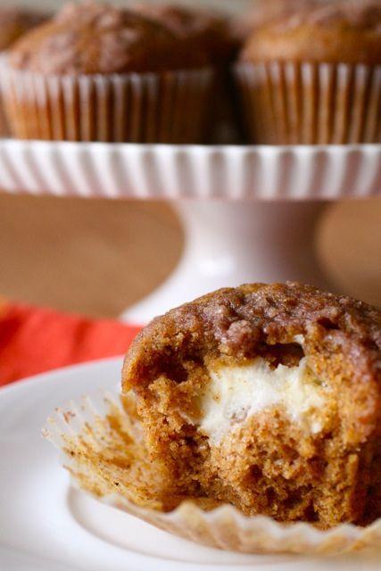 pumpkin cream cheese muffins 1 by annieseats, via Flickr