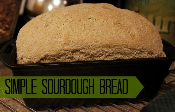 Learn how to make a simple sourdough bread! From AuthenticSimplicity ...