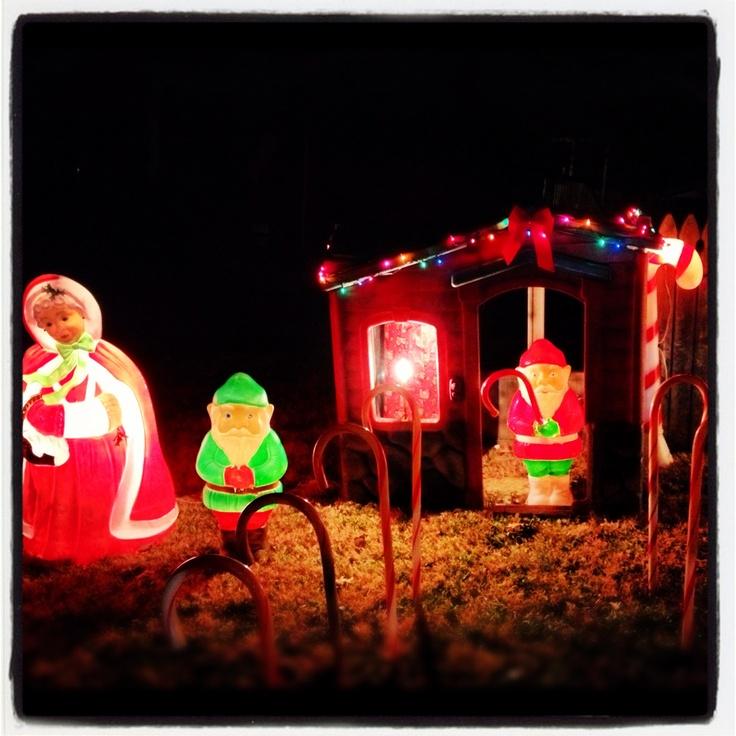 Outdoor christmas decorations | Decerations | Pinterest