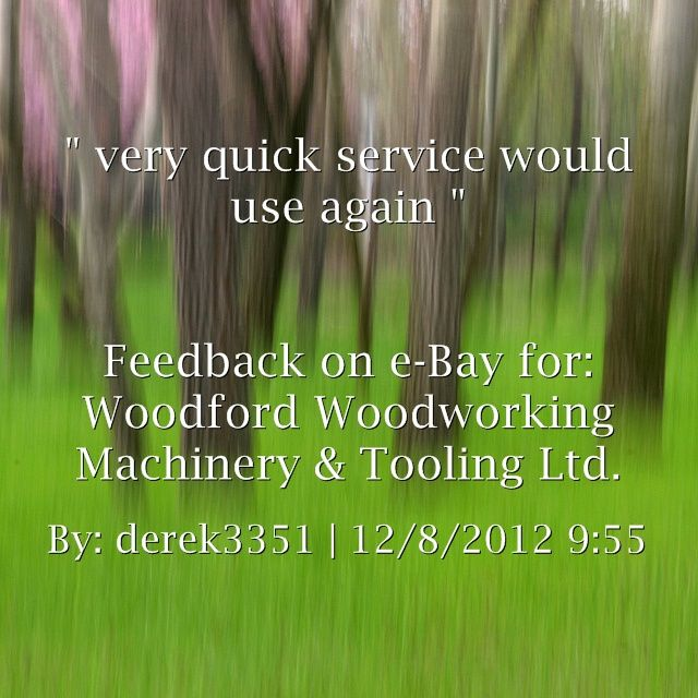 ... service would use again ~derek3351 http://stores.ebay.co.uk/woodfordwm
