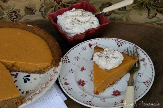 Pumpkin Icebox Pie | Recipe