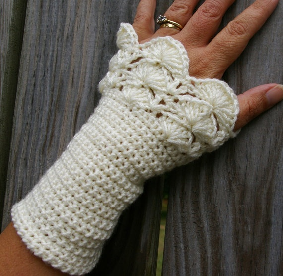 Crochet Patterns Arm Warmers : arm warmers