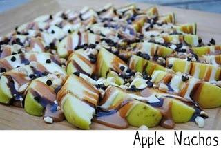 MMmmm - Apple Nachos; Very messy