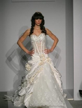 See Through Corset Wedding Dresses My Wedding Pinterest