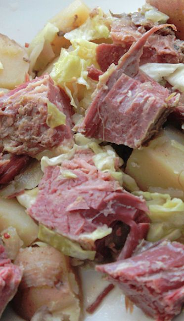 Crock Pot Guinness Corned Beef and Cabbage | Recipe