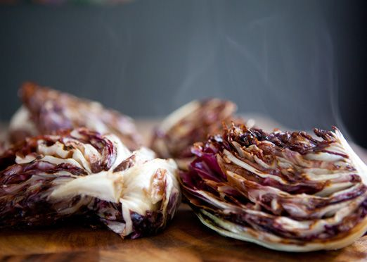 grilled radicchio and endive salad | foods | Pinterest