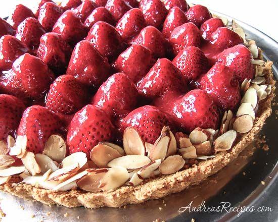 Strawberry Cream Tart | Recipe